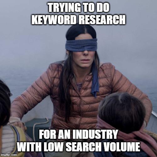 keyword research meme