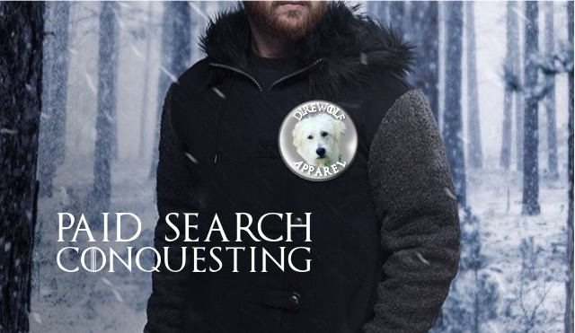 Paid Search Conquesting / Competitive Bidding Game of Thrones photo