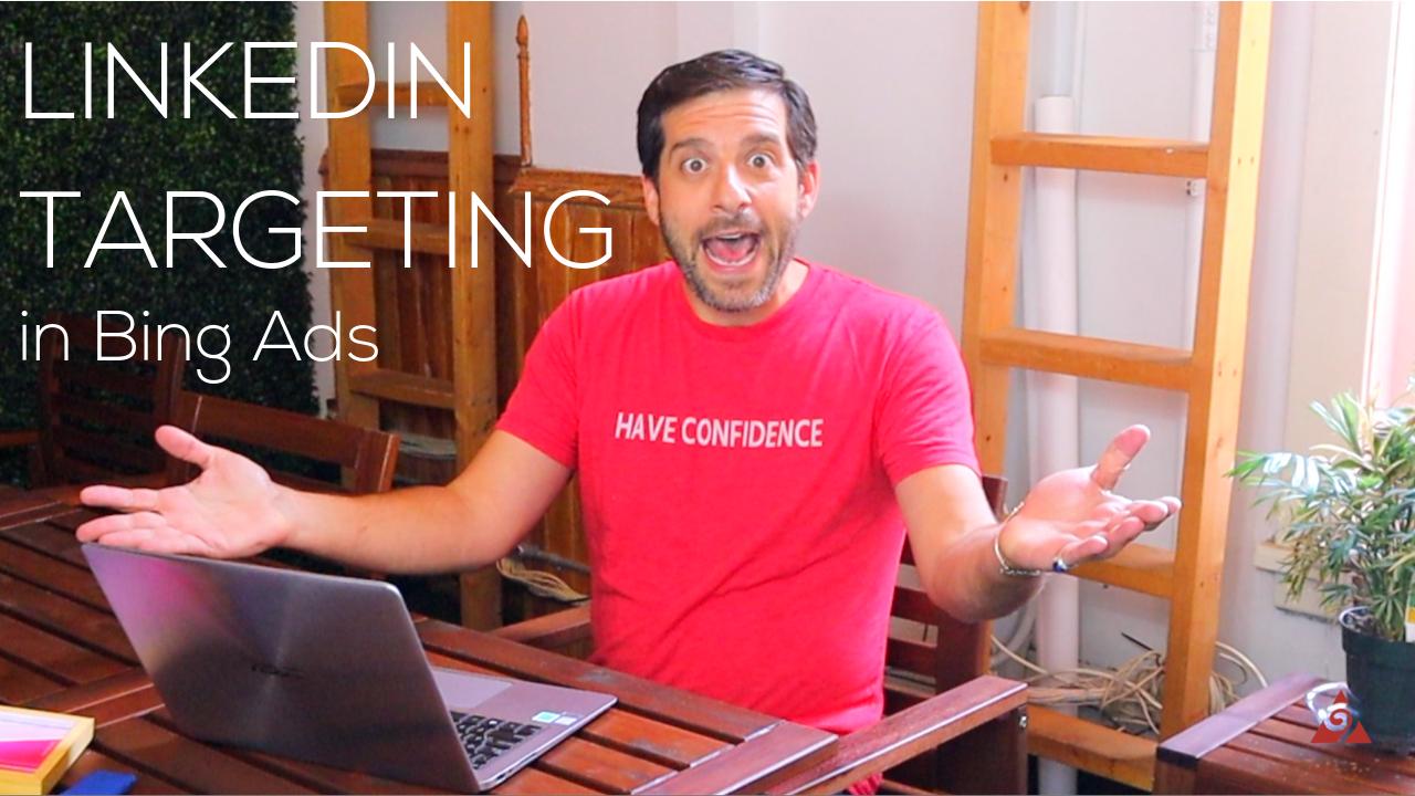 LinkedIn targeting in Bing Ads