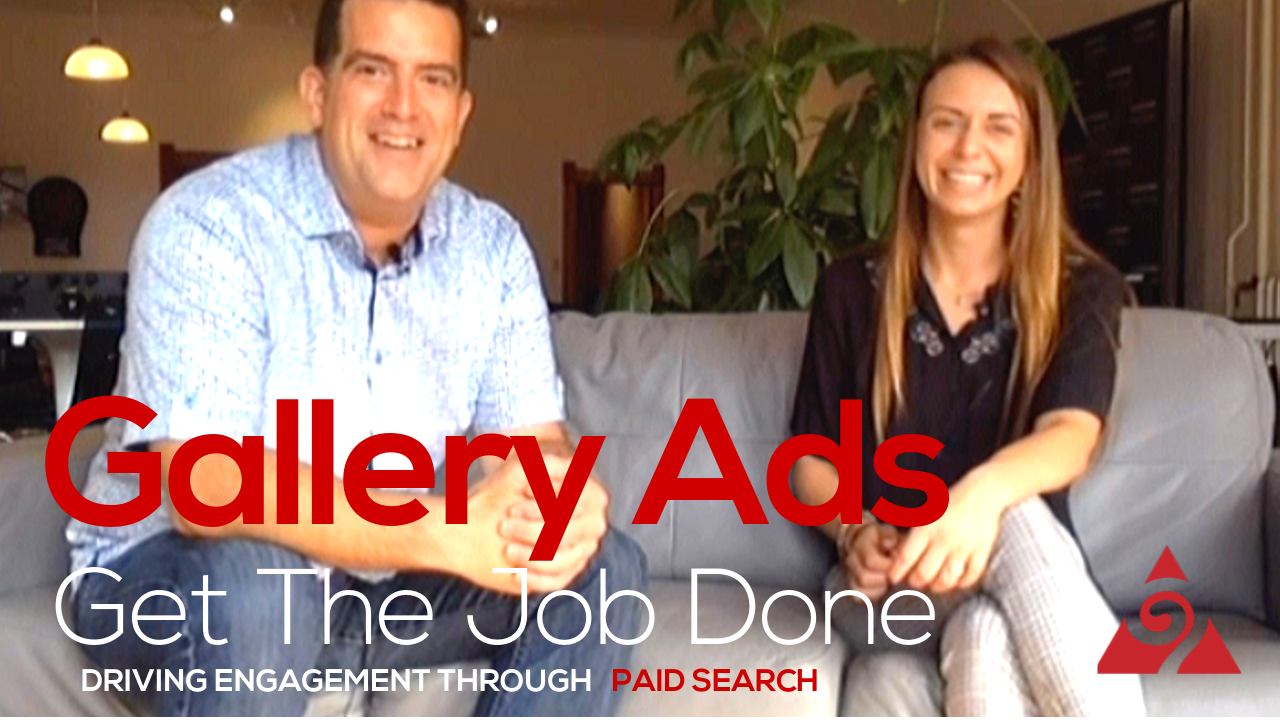 DRIVING ENGAGEMENT THROUGH GALLERY ADS IN PAID SEARCH