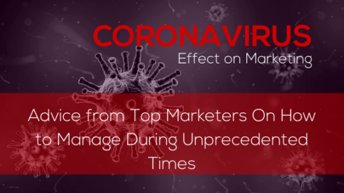 coronavirus effect on marketing