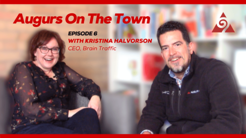 Augurs On The Town Episode 6 with Kristina Halvorson