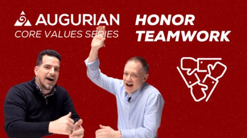 Honor Teamwork: Augurian Core Values Series