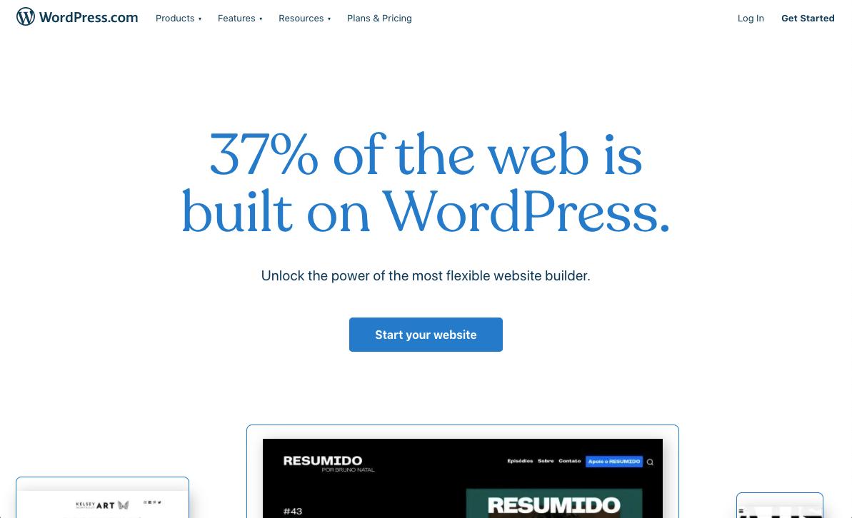 Screenshot of WordPress Content Marketing Tool