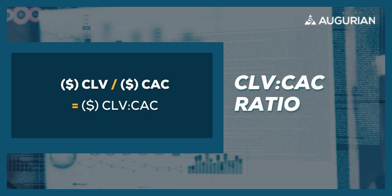 SaaS Metrics Formula for CLV CAC Ratio