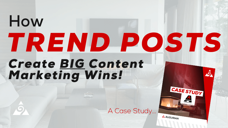 how trend posts create big content marketing wins