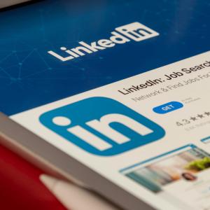 Image of an ad on LinkedIn