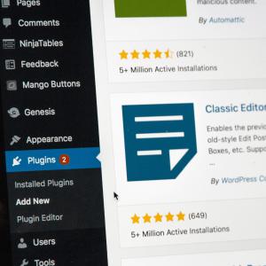 Image of creating SEO blog content in WordPress